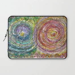 Watercolor Loe Laptop Sleeve