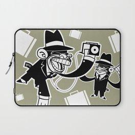 Köpke's Mafia Monkeys! Laptop Sleeve