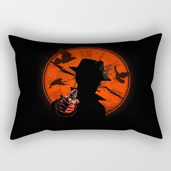 The Time Has Come Rectangular Pillow