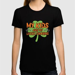 St Patrick My ids are my Charms T-shirt