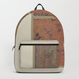 Verneuil - Japanese paper and fabric designs (1913) - 38: Butterflies and flowers Backpack
