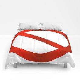 prohibition signal Comforters