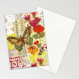 Beautiful Butterfly Stationery Cards