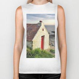 Irish cottage, Ireland Biker Tank