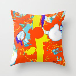 Holiday Excursion        by Kay Lipton Throw Pillow