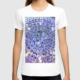 Blue Purple Crystals T-shirt