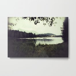 Alpine Lake Metal Print