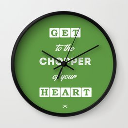 80's Movie Motivation: Predator Wall Clock