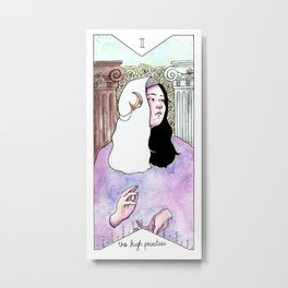 The High Priestess Metal Print