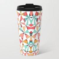 Geometric Travel Mug