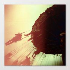 Swings and Light Leaks Canvas Print