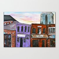 broadway Canvas Prints featuring Broadway by Becky Shelton