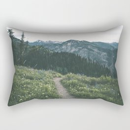Happy Trails III Rectangular Pillow
