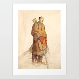 - sherpa - Art Print