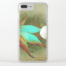 Leafy Clear iPhone Case