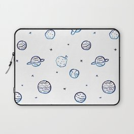 Planets pattern Laptop Sleeve