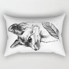 My Little Fox by camarocaro Rectangular Pillow