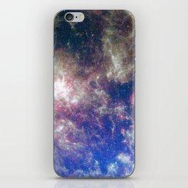 Large Magellanic Cloud, infrared 2 iPhone Skin