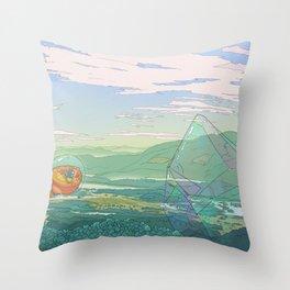 Giant Crystal Throw Pillow