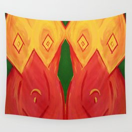Cubist Bodice Wall Tapestry
