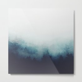The space between Metal Print