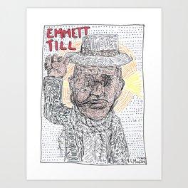 Emmett Till Art Print