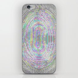 Borders without borders iPhone Skin