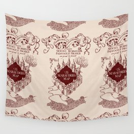Marauder's Map Wall Tapestry
