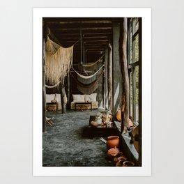 Bohemian Interiors Art Print