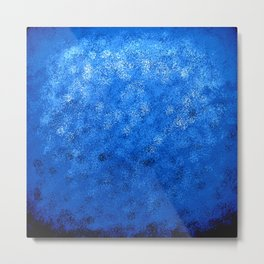Blue Totally Awesome Metal Print