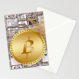 Bitcoin 14 Stationery Cards
