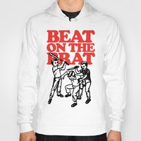 ramones Hoodies featuring Beat on the Brat by Sellergren Design - Art is the Enemy