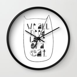 Le Chat. Wall Clock