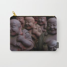 Laughing Buddhas Carry-All Pouch