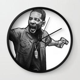 Mike Lowrey Wall Clock