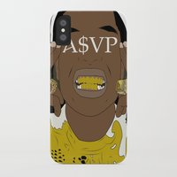 asap rocky iPhone & iPod Cases featuring ASAP Rocky by ashakyetra