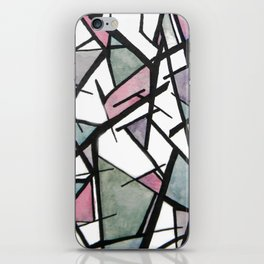 Abstract Triangles  iPhone Skin