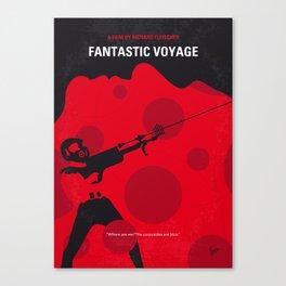 No974 My Fantastic Voyage minimal movie poster Canvas Print