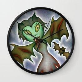 Tilda: Blood Elemental Wall Clock