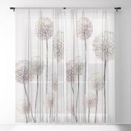 Dandelions Sheer Curtain