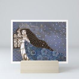 Schneewittchen-The Queen's Wish Mini Art Print