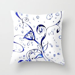 An Unrealistic Reality Throw Pillow