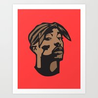 2-Pac Print Art Print