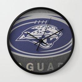 Mill Valley High School Jaguars Football Wall Clock