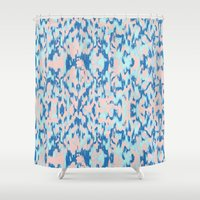 watercolour Shower Curtains featuring Watercolour by requetetrend