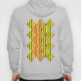 Colorful Stripes and Curls Hoody