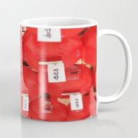 lantern Mugs featuring Lantern by strentse