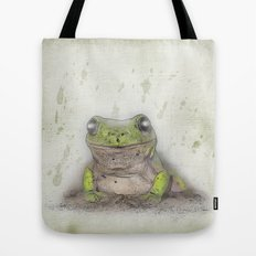 Jeremiah was a bullfrog Tote Bag