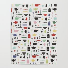 Vintage Kitchen Posters Society6