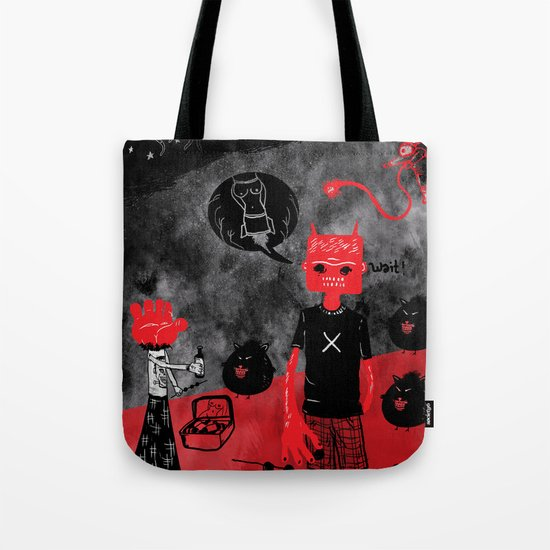 Day Off Tote Bag